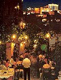 Plaka, the old part of Athens - The Athens By Night Tour
