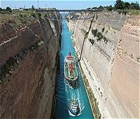 Corinth Canal - The Four days Classical Tour with Meteora, Greece
