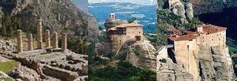 Details and photos of the Delphi-Meteora 3-day Tour of Greece