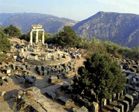 Delphi ruins - The two days tour to Meteora monasteries in Greece