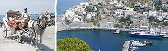 Hydra island - One-day cruise to 3 Greek islands