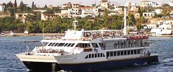 Cruise-ship in Aegina - One-day cruise to 3 Greek islands